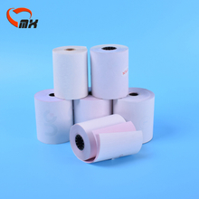 76mm x 70mm 3ply Carbonless Paper Roll